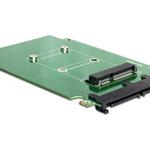DeLock Converter SATA 22 pin > mSATA - Massenspeicher Controller ( mSATA ) - SATA 3Gb/s 62432