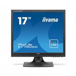 Schwarz ProLite Iiyama 17 Zoll TFT-Monitor