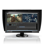 Schwarz ColorEdge Eizo 27 Zoll TFT-Monitor