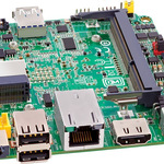 Intel Next Unit of Computing Board DE3815TYBE