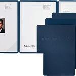 Pagna Bewerbungsmappe 22022-02 blau