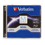 Verbatim BD-R XL 100GB 1er Jewel Case 98912