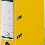 LEITZ Ordner 1010-50-15 A4 PP 80mm gelb