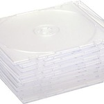 jetType CD/DVD Hülle Slimcase für 1 CD/DVD black