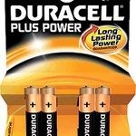 Duracell Batterien AAA DUR018457 VE4