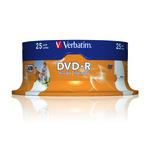 Verbatim DVD-R 4,7GB/120 Min 25er Spindel 43538