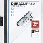 DURABLE Klemmmappe 2200-02 A4 PP weiß