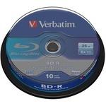 Verbatim BD-R 25GB 10er Spindel 43742