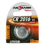 Knopfbatterie 1er Blister CR2016 3V Lithium