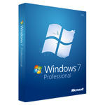 Microsoft Windows 7 Professional w/SP1 - Lizenz und Medien - 1 PC - OEM - DVD - 64-bit,  Deutsch