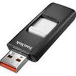 SanDisk USB Stick 16GB SDCZ36-016G-E11 Cruzer schwarz