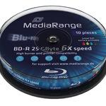 MediaRange BD-R 25GB 10er Spindel MR500 bedruckbar