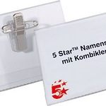 5 Star Namensschild  VE 50