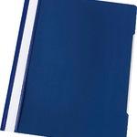 5 Star PVC Schnellhefter A4 d.blau VE5