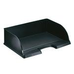 Leitz Briefablage Jumbo Plus DIN A4 quer Polystyrol Farbe: schwarz