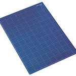 Westcott Schneidematte 60 x 45 x 0,3 cm (B x H x T) Kunststoff blau