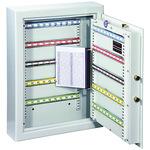 Format Schlüsselschrank ST 100 46 x 63,6 x 12 cm (B x H x T) Stahl lichtgrau