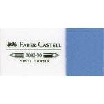 Faber-Castell Radierer KOMBI 7082-20 Bleistifte, Buntstifte, Tinte 2,2 x 1,2 x 6,2 cm (B x H x L) Kunststoff weiß/blau