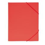 Eckspanner DIN A4 Polypropylen rot