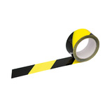 Signalklebeband 50 mm x 66 m (B x L) Polypropylen gelb/schwarz