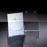 Sigel Prospekthalter acrylic 24 x 29 x 9 cm (B x H x T) DIN A4 Acryl glasklar 1 Fach