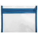 Veloflex Reißverschlusstasche VELOBAG® XXS Eurolochung Polypropylen blau