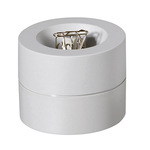 MAUL Klammernspender MAULpro 7,3 x 6 cm (Ø x H) mit Klammer Kunststoff grau