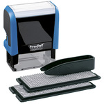 trodat® Textstempel Typo Printy 4912 47 x 18 mm (B x H) individuelle Textplatte schwarz