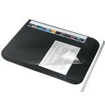 Leitz Schreibunterlage 65 x 50 cm (B x H) mit Folienauflage PVC schwarz