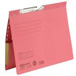 ELBA Pendelhefter DIN A4 320g/m² kaufmännische Heftung mit Organisationsaufdruck Karton rot
