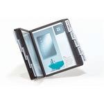 DURABLE Sichttafelständer VARIO® A5 TABLE 10 18 x 28 x 12,8 cm (B x H x T) Stahl 10 Sichttafeln schwarz