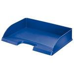 Leitz Briefablage Plus DIN A4 quer Polystyrol Farbe: blau