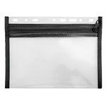 Veloflex Reißverschlusstasche VELOBAG® XXS Eurolochung Polypropylen schwarz