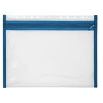 Veloflex Reißverschlusstasche VELOBAG® XS Eurolochung Polypropylen blau