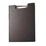 MAUL Klemmbrettmappe 23,5 x 32,5 cm (B x H) Karton, Folienüberzug schwarz