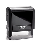 trodat® Textstempel Printy 4912 46 x 17 mm (B x H) individuelle Textplatte schwarz