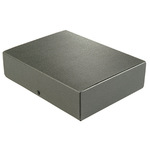 ELBA Dokumentenmappe 24,5 x 31,8 cm (B x H) DIN A4 Hartpappe, recycelt schwarz