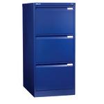 Bisley Hängeregistraturschrank 413 x 1.016 x 622 mm (B x H x T) Stahl oxfordblau