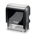 trodat® Textstempel Printy 4913 57 x 21 mm (B x H) individuelle Textplatte schwarz