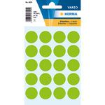 HERMA Markierungspunkt VARIO 19mm Papier grün 100 Etik./Pack.