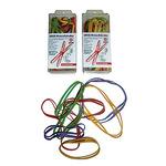 WIHEDÜ Kreuzband 11 x 80 mm (B x L) Naturkautschuk farbig sortiert (freie Farbauswahl nicht möglich) 35g 25 St./Pack.