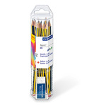 STAEDTLER® Bleistift Noris® 120 2mm HB inkl. Radierer Mars® plastic 12 St./Pack.