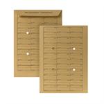 POSTHORN Hausposttasche DIN C4 229 x 324 mm (B x H) 110g/m² Papier braun
