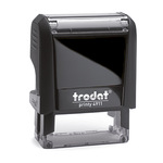 trodat® Textstempel Printy 4911 36 x 13 mm (B x H) individuelle Textplatte schwarz