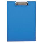 Klemmbrett 23,6 x 32,1 cm (B x H) DIN A4 Polypropylen blau