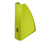 Leitz Stehsammler WOW 7,5 x 31,2 x 25,8 cm (B x H x T) DIN A4 Werkstoff: Polystyrol grün metallic
