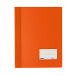 DURABLE Schnellhefter DIN A4, Überbreite PVC orange