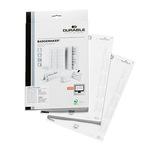 DURABLE Einsteckschild BADGEMAKER® 74 x 34 mm (B x H) 150g/m² Karton weiß 280 St./Pack.