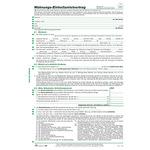 RNK Mietvertrag DIN A4 nicht selbstdurchschreibend 4 Bl.