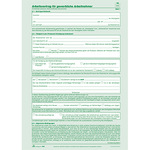 RNK Arbeitsvertrag DIN A4 selbstdurchschreibend 2 Bl.
